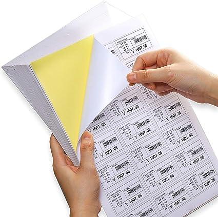 Magicdo Etiquetas autoadhesivas para impresoras de inyección de ...