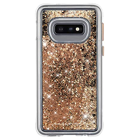 95d31dcb6 Image Unavailable. Image not available for. Color: Case-Mate - Waterfall - Samsung  Galaxy S10e - Liquid Glitter ...