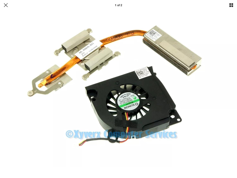 Dell Laptop M274K Heatsink and Fan C169M Inspiron 1545