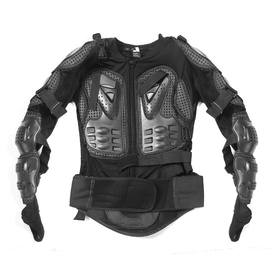 uxcell Motorcycle Motorcross Full Upper Body Armor Shirt Jacket Back Shoulder Protector XXL