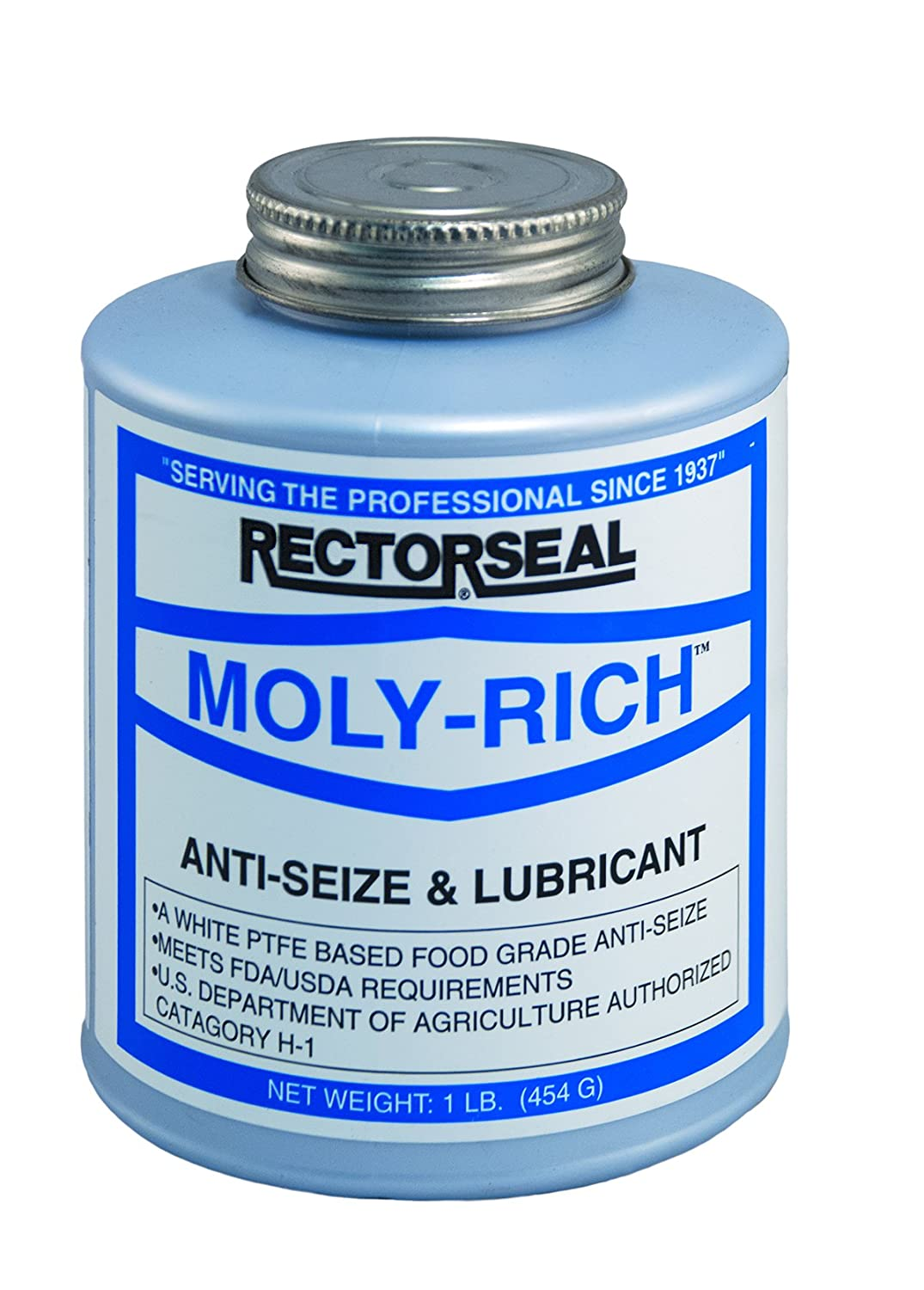 Rectorseal 71431 1-Pound Moly-Rich Antiseize And Lubricant The Rectorseal Corporation