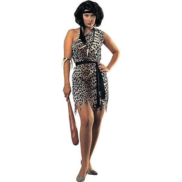 Rubies - Disfraz de mujer cavernícola para adultos, talla única ...