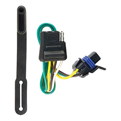 CURT 56096 Vehicle-Side Custom 4-Pin Trailer Wiring Harness for Select Cadillac SRX: Automotive