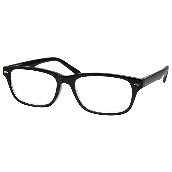 615becaa35a High Magnification Power Readers Slim Reading Glasses 4.00-6.00 Black 4.00