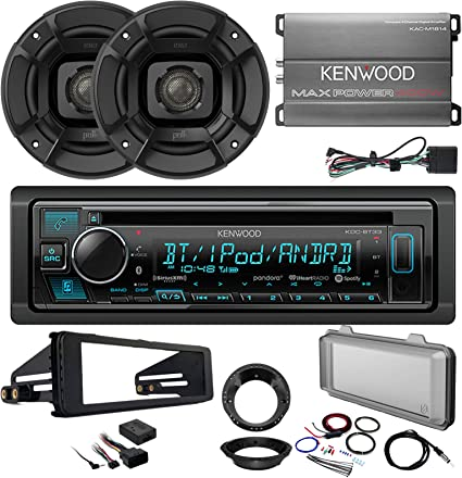 "Pioneer Bluetooth CD USB Radio Harley 98-13 Metra Radio Kit 6.5/"" Speaker Set"