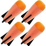 Toosci Mega Missile Refill 4-Pack for Nerf N-Strike Elite Series Blasters, Nerf Mega Darts Compatible with Nerf Missile…