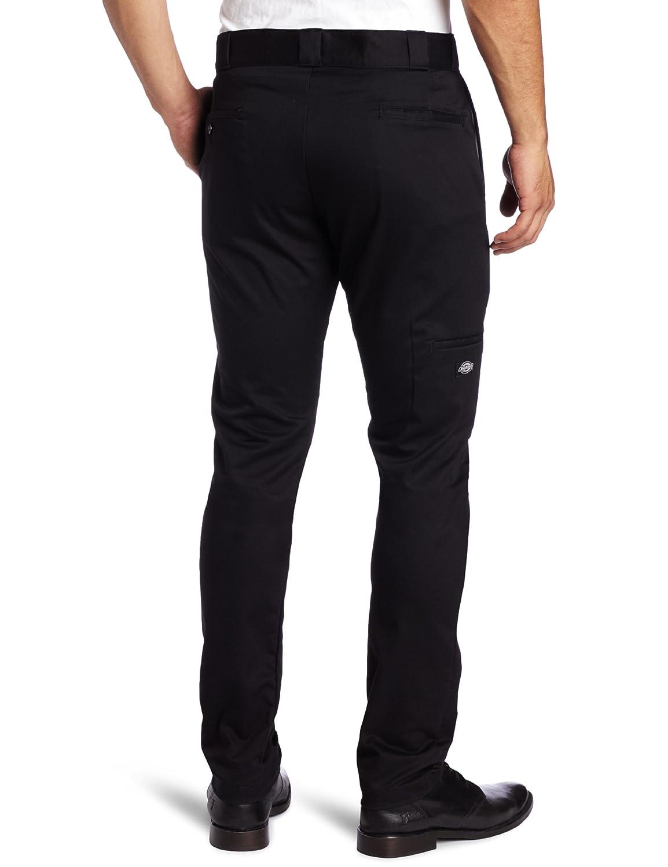 887338105b2 Amazon.com  Dickies Men s Skinny Straight-Fit Work Pant  Casual Pants   Clothing