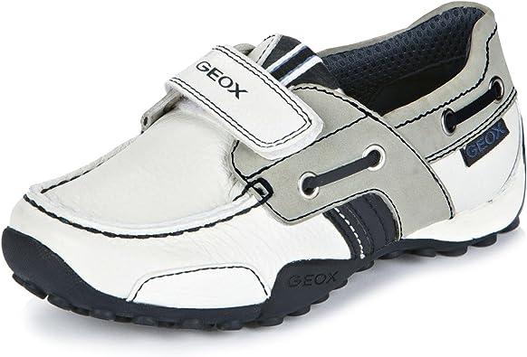 objetivo cortesía Vista  Geox, B2216D C0899, Nautico Blanco de Niños, Talla 24: Amazon.es: Zapatos y  complementos