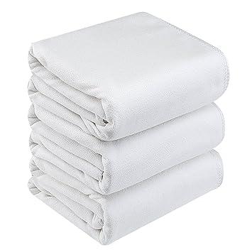 Premium toalla de baño (microfibra, 4 piezas: 3 unidades Juego de toallas (