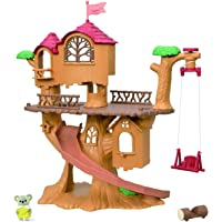 Calico Critters Adventure Treehouse Gift Set, Collectible Dollhouse, Figure and Accessories