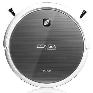 Cecotec Conga Excellence - Robot aspirador (4 en 1, barre, aspira ...