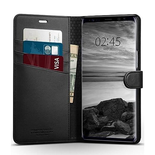 4 opinioni per Cover Galaxy Note 8, Spigen® [Wallet S] Con copertura pieghevole e funzione