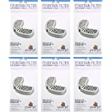 Pioneer Pet Filters for Ceramic & Stainless Steel Fountains, Raindrop Filters (18 Filters)
