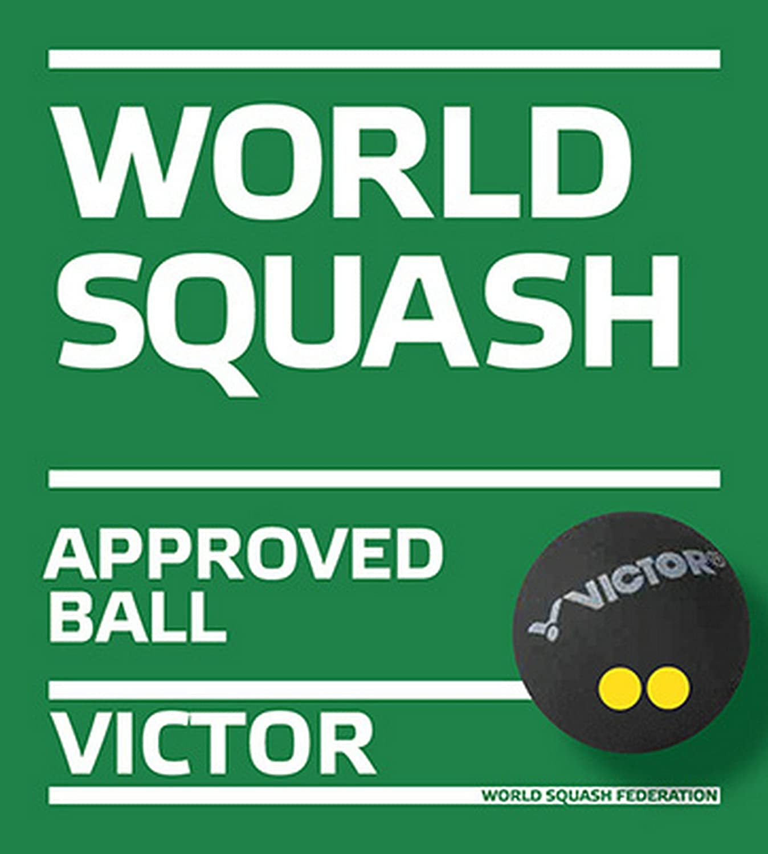 Victor Squashball Pelota de Squash Unisex Adulto