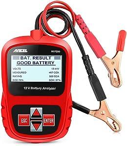 ANCEL BST200 Car Battery Load Tester 12V 100-1100 CCA Automotive Bad Cell Test Tool Digital Analyzer