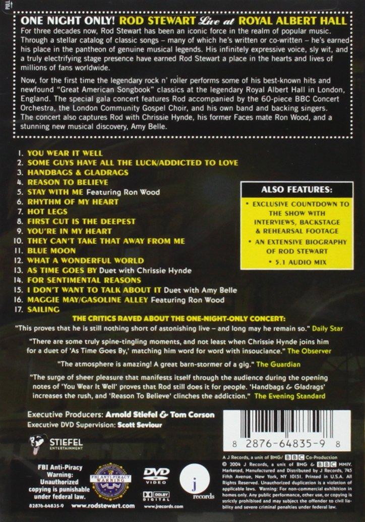 Lyric maggie may lyrics : Amazon.com: One Night Only - Rod Stewart Live at Royal Albert Hall ...