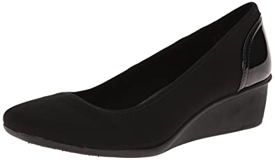 e23ed446b5a6 Image Unavailable. Image not available for. Colour  Anne Klein Sport  Women s Wisher Fabric Wedge Pump