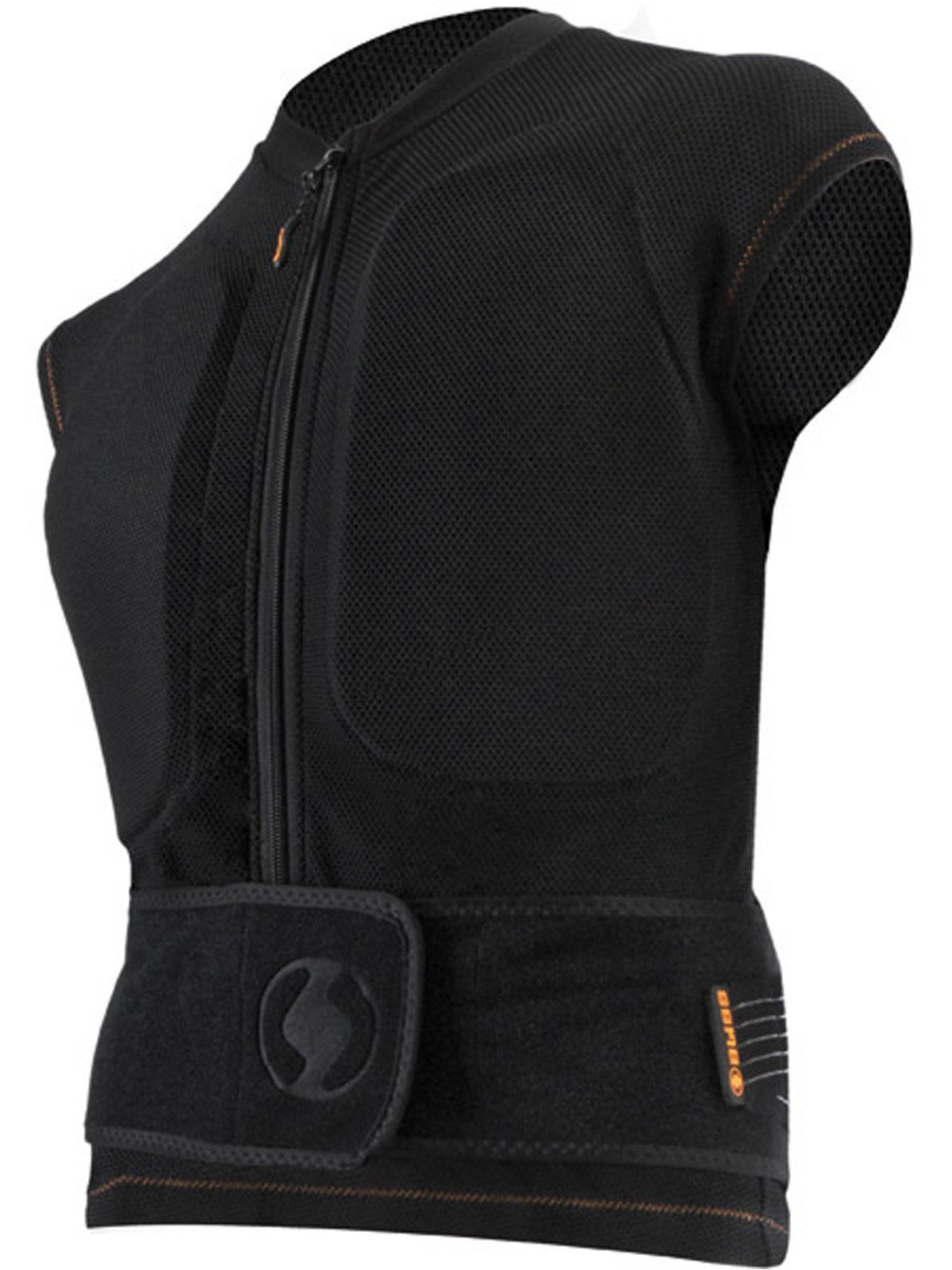 bliss Black Classic Snowboarding Protection Vest (S, Black)