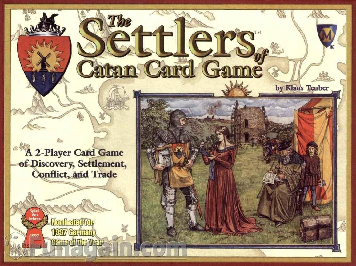 Mayfair Games - Juego de cartas Los Colonos de Catan: Amazon ...