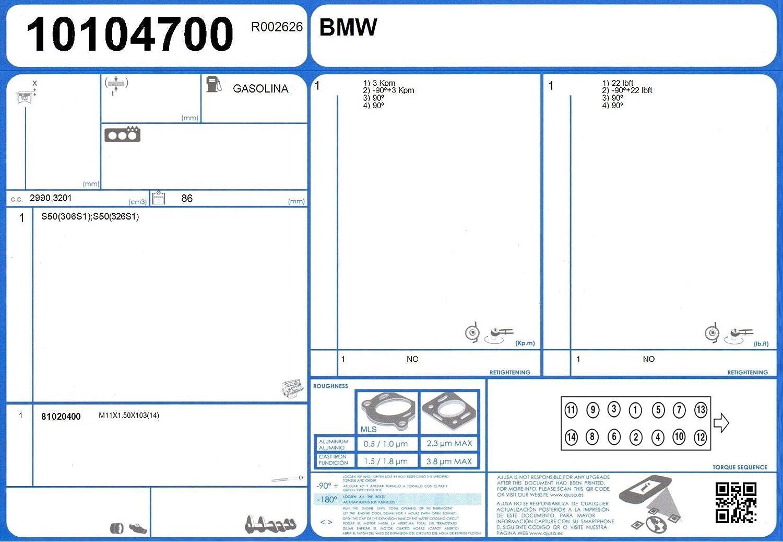AJUSA 81020400 Zylinderkopfschraubensatz