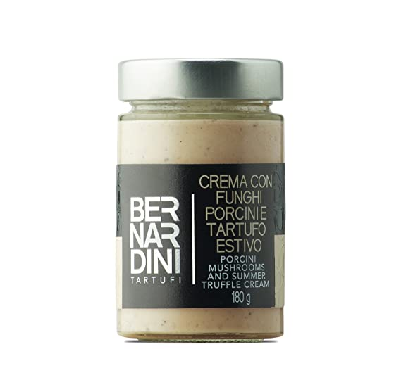 Bernardini Tartufi Crema de Setas Porcini y Trufa de Verano - 180 gr