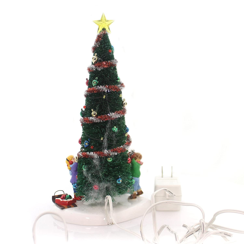 Department 56 Christmas Tree.Amazon Com Dept 56 Main Street Christmas Tree Home Kitchen