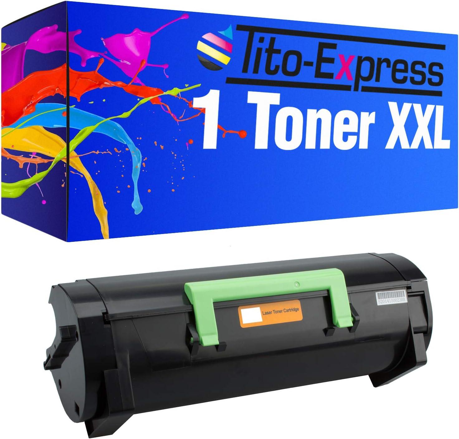 Tito Express Platinumserie 1 Toner Xxl Kompatibel Mit Lexmark Ms 310 Ms310d Ms310dn Ms312dn Ms315dn Ms410d Ms410dn Ms510dn Ms610de Ms610dn Ms610dte Ms610dtn 50f2h00 Black 5 000 Seiten Bürobedarf Schreibwaren