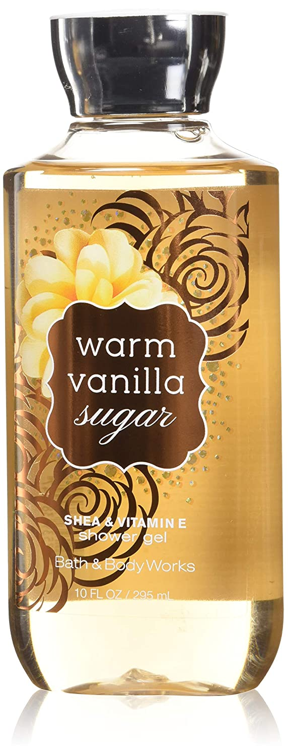 Bath and Body Works Warm Vanilla Sugar Signature Collection Shower Gel, 10 oz, new packaging 667532627213