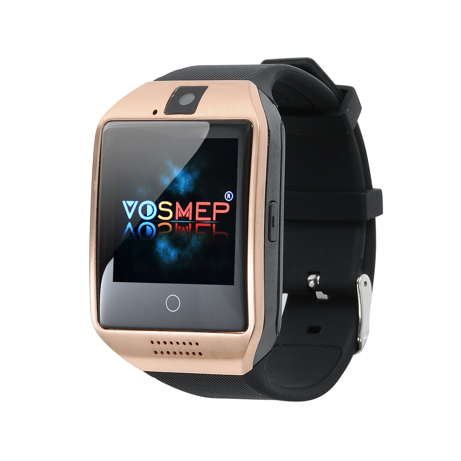 VOSMEP Rejol Inteligente Apro Smart Watch sorporte Facebook Whatsapp con Bluetooth 3.0 Built-in 8G Memoria Teléfono Inteligente Amarre Pulsera con ...
