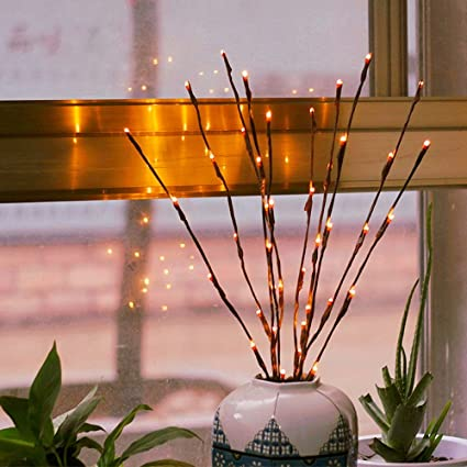 Amazon Com Branch Lights Led Branches Battery Powered Decorative