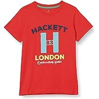 Hackett London Logo H tee B Camiseta para Niños