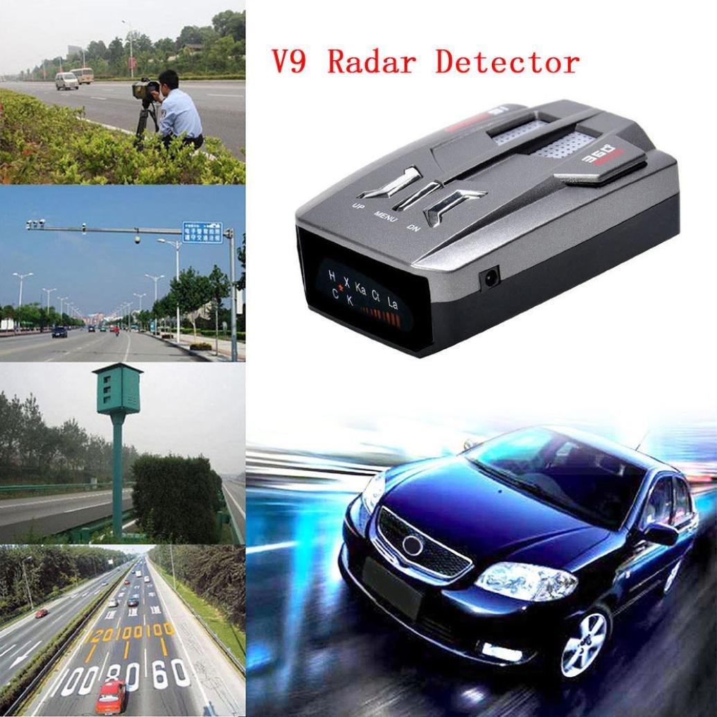 Gaddrt auto radar laser velocità rilevatore di 360gradi auto velocità limitata radar detector Voice Alert anti rivelatore