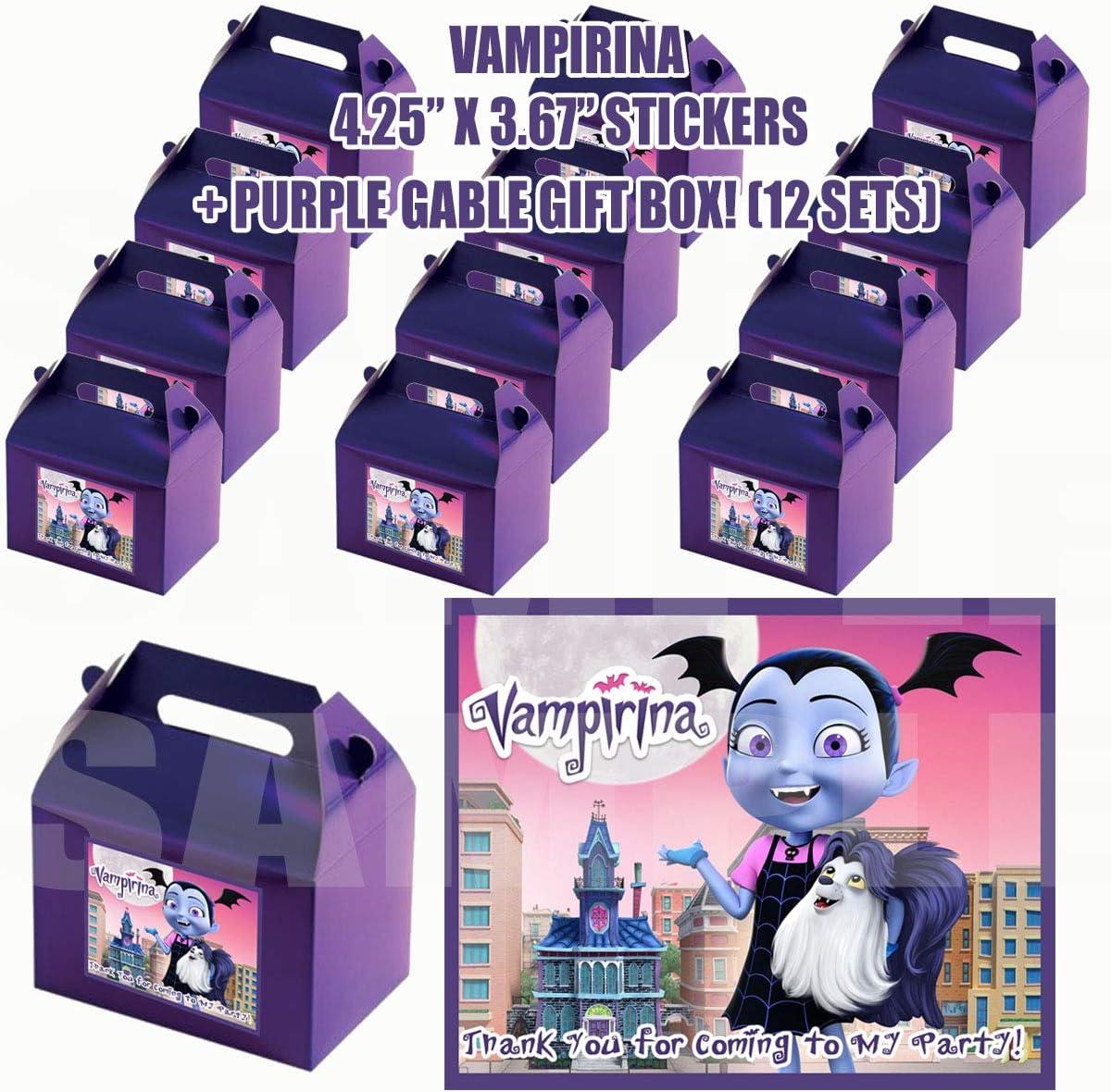 vampirina gift box sets, stickers