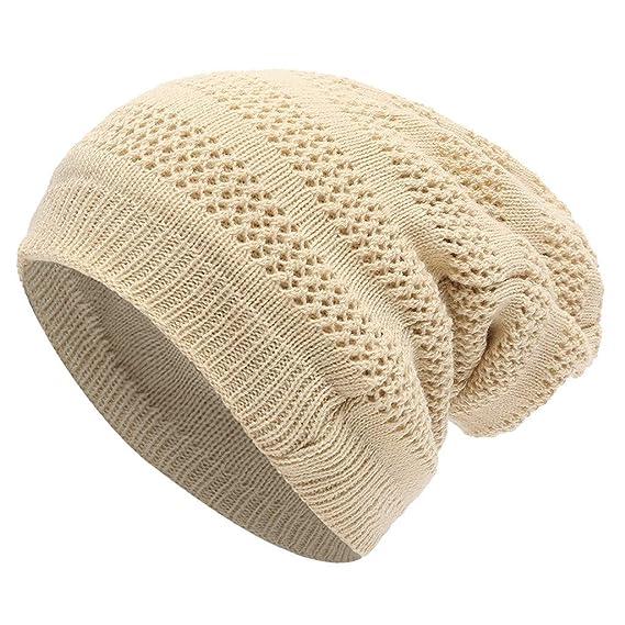 professionnel de premier plan tout à fait stylé très loué MerryDate-Chapeau tricoté Femme Hommes Unisexe Bonnets ...