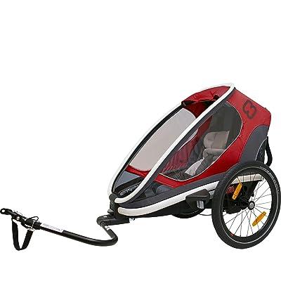 Hamax Outback Multi-Sport Child Bike Trailer + Stroller 2018 Non-Reclining Model
