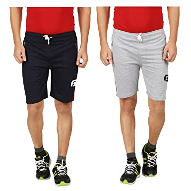 TIRUPUR GUIDEFASHION Guide Fashion Cotton Men and Women Sports and Casual  Shorts Pack of 2