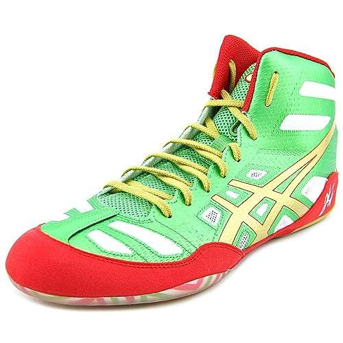 Asics JB Elite Hombre US 10.5 Verde Zapatillas EU 44,5: Amazon.es: Zapatos y complementos