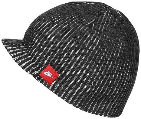 2281575cc79 ... best price nike ribbed peak beanie hat one size 22502 44374