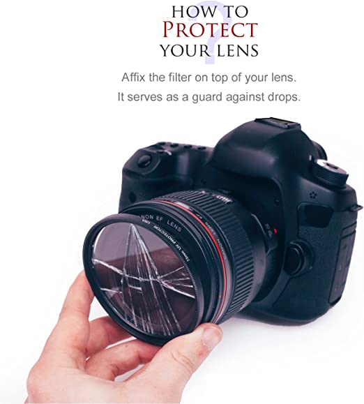 Ultraviolet UV Multi-Coated HD Glass Protection Filter for Sony 500mm f//8 Reflex Super Telephoto Lens