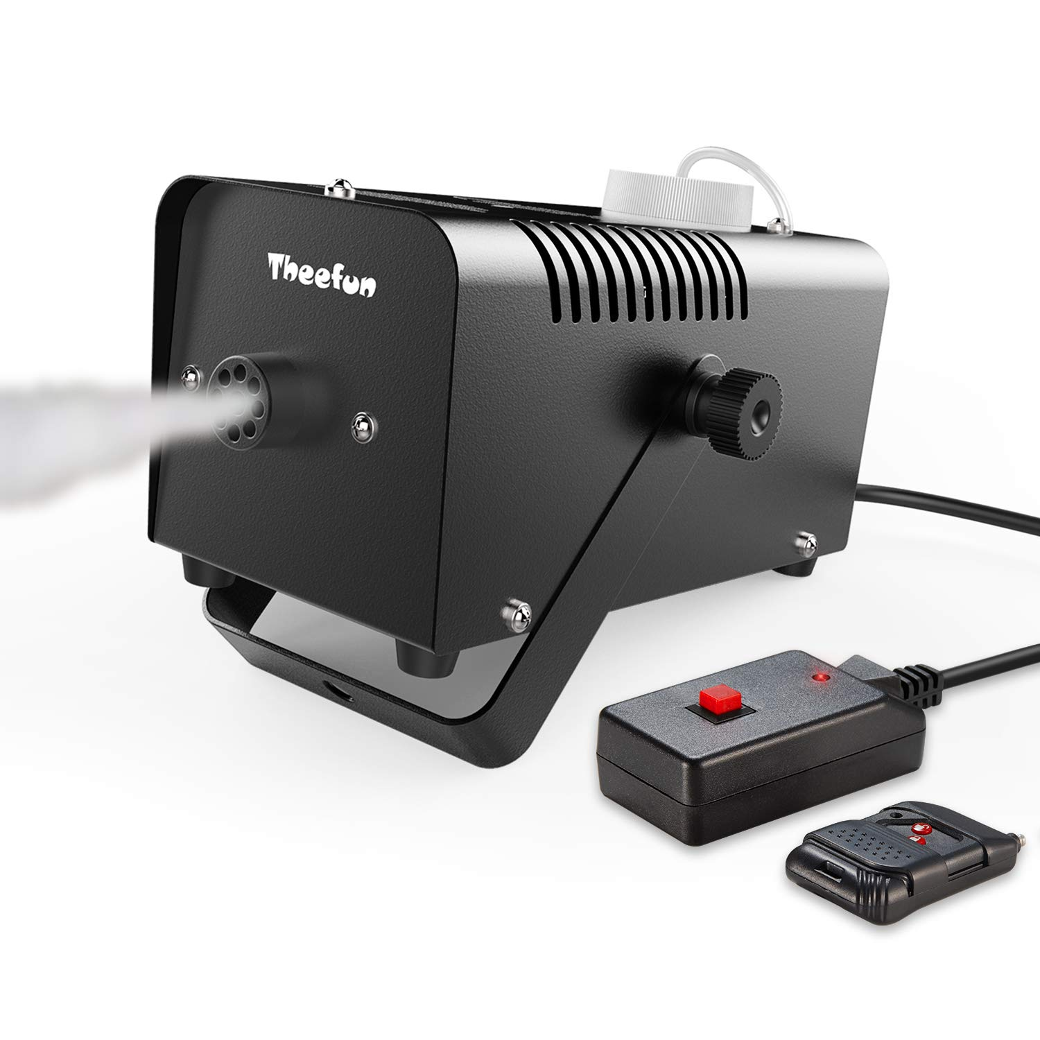 Theefun 400-Watt Portable Halloween and Party Fog Machine with Wireless Remote Control for Holidays, Weddings - impressive output by Theefun