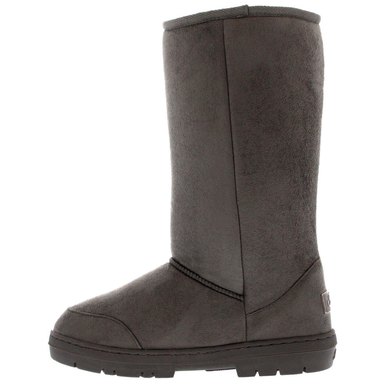 Stiefeletten Frauen Dunkelgrau Boots CLASSIC POMPOM