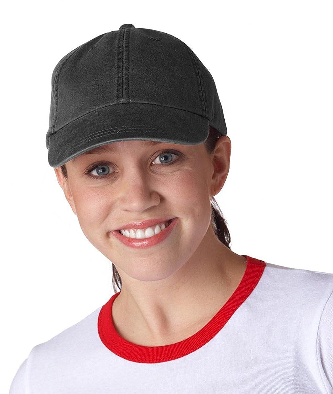 f774cd9e Adams Cotton Twill Classic Optimum Cap - Black (One) at Amazon Men's  Clothing store: