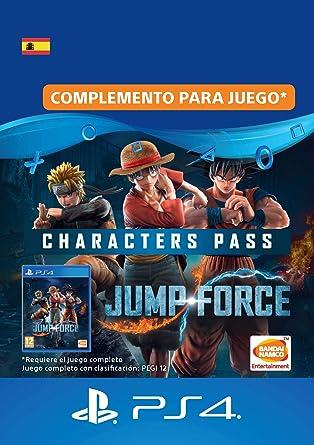 JUMP FORCE - Characters Pass | Código de descarga PS4 - Cuenta ...