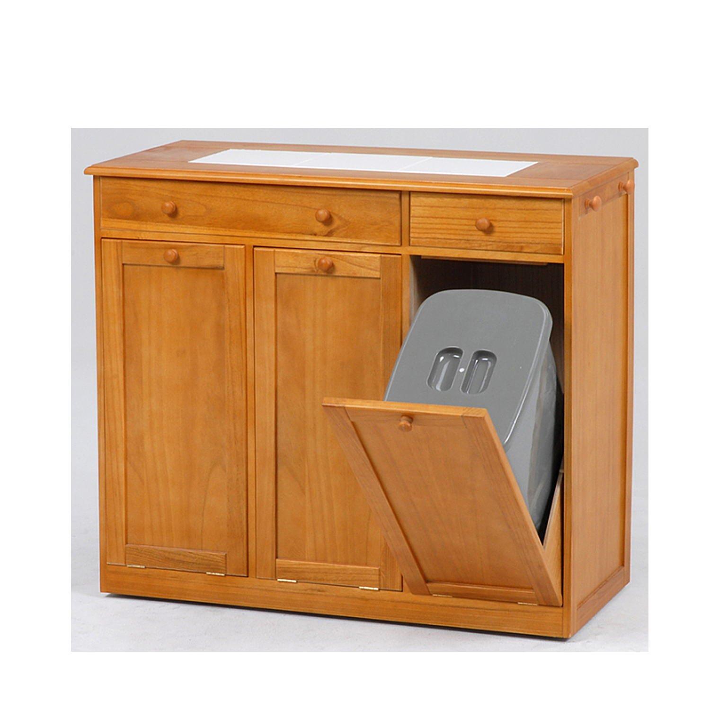 ダストボックス(25L×3個)ごみ箱 キャスター付き SIsiMUD060205090NAis B01JIFIHIE