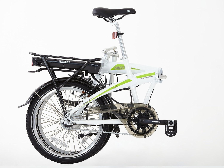 Greenway plegable bicicleta eléctrica, Samsung Celdas de litio recargable LCD, sistema de pas: Amazon.es: Deportes y aire libre
