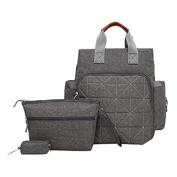 BABIFIS 3 unids/Set Bolsas de pañales para bebés Mochilas ...