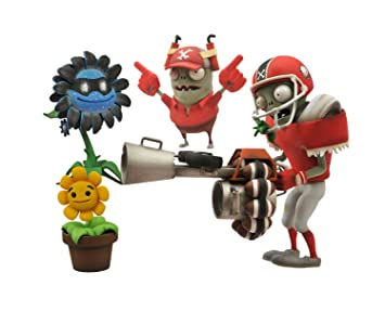 amazon plants vs zombies all star zombie vs shadow flower action