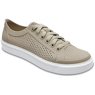 Crocs - Womens Citi Lane Roka Court Clog Shoes, Size: 10 B(M) US Womens, Color: Cobblestone | Mules & Clogs