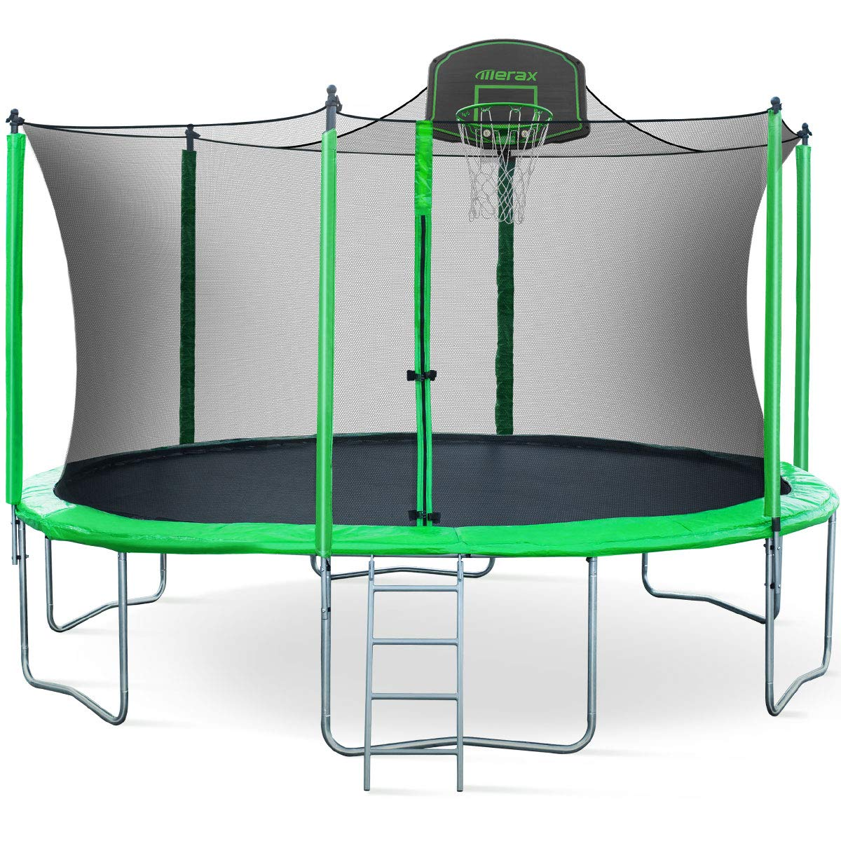 Merax 14FT 15FT Trampoline with Enclosure Kids Trampoline ...