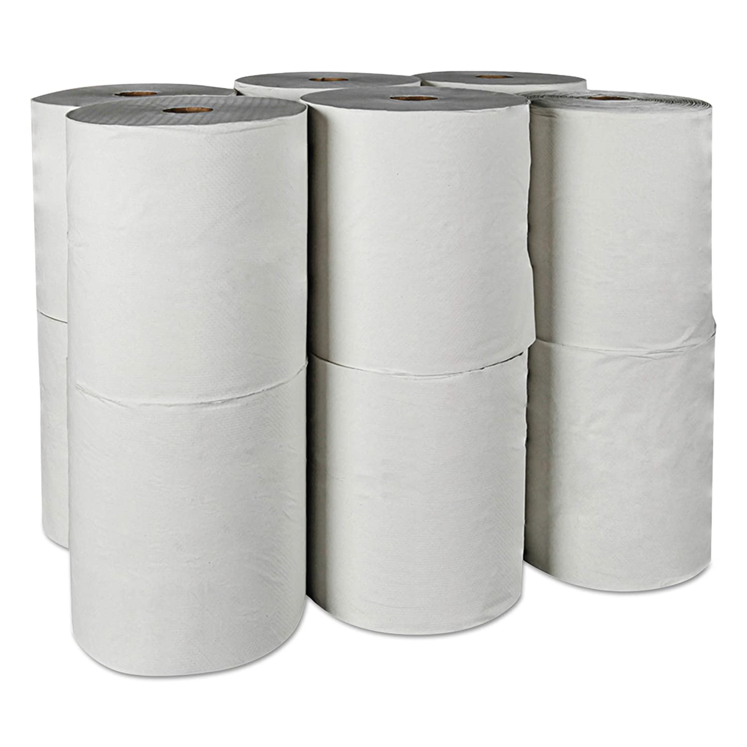 100/% Recycled 8 x 800ft Scott 01052 Hard Roll Towels Kimberly-Clark Professional Case of 12 Rolls 1.5 Core 8 x 800ft 1.5 Core White Case of 12 Rolls